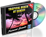 Natural Sounds Vol. 08 - Tropical Beach at Sunset